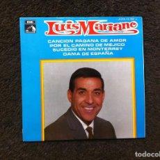 Discos de vinilo: SINGLE. LUIS MARIANO ACOMP. ORQUESTA. 1969. Lote 160461534