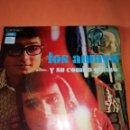 Discos de vinilo: LOS AMAYA Y SU COMBO GITANO-CARAMELOS-SINGLE-EMI-AÑO 1971-2186 67-N.. Lote 160465470