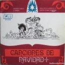 Discos de vinilo: JOHNNY DOUGLAS ORCHESTRA: NAVIDADES BLANCAS / EL BURRITO -- MALCOLM LOCKYER QUINTET: JINGLE BELLS + . Lote 160466082