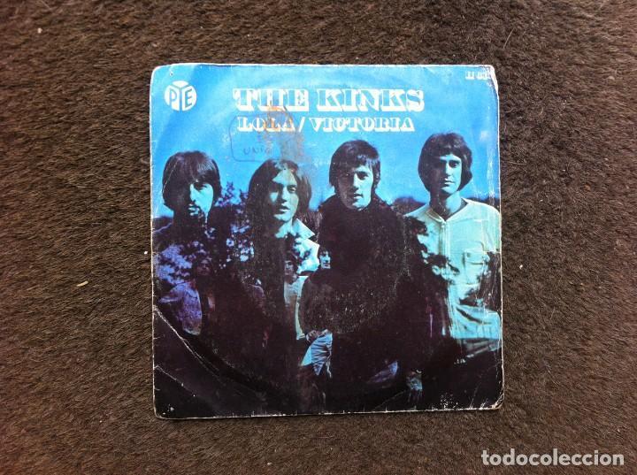 THE KINKS. 1970. SINGLE / EP. 2 TEMAS. LOLA. VICTORIA (Música - Discos - Singles Vinilo - Otros estilos)