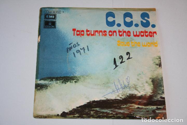 C.C.S. *** SINGLE VINILO MUSICA AÑO 1971 *** EMI ODEON *** (Música - Discos - Singles Vinilo - Pop - Rock - Extranjero de los 70)
