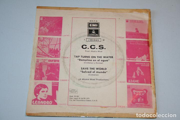 Discos de vinilo: C.C.S. *** SINGLE VINILO MUSICA AñO 1971 *** EMI ODEON *** - Foto 2 - 160480578
