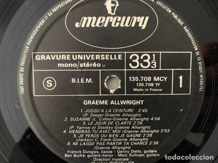 Discos de vinilo: Graeme Allwright – Le Jour De Clarté Sello: Mercury – 135 708 MCY, Mercury – 135.708 MCY Formato: - Foto 3 - 191494603