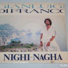 Discos de vinilo: GIANLUIGI DI FRANCO *** SINGLE VINILO MUSICA AÑO 1988 *** ZAFIRO ***. Lote 160485670