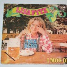Discos de vinilo: LISA FITZ *** SINGLE VINILO MUSICA AÑO 1972 *** METRONOME ***. Lote 160487206