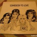 Discos de vinilo: QUEEN SINGLE 45 RPM SOMEBODY TO LOVE EMI UK 1976. Lote 160488690