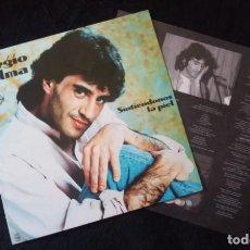 Discos de vinilo: LP SERGIO DALMA, SINTIÉNDONOS LA PIEL. Lote 160488714