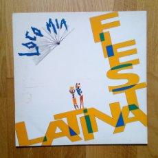 Discos de vinilo: LOCO MIA - FIESTA LATINA, HISPAVOX, 1991. SPAIN.. Lote 160491300