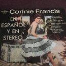 Discos de vinilo: CONNIE FRANCIS CANTA EN ESPAÑOL Y EN STEREO 1964 MGM. Lote 160492126