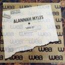 Discos de vinilo: ALANNAH MYLES.LOVE IS.WEA INTERNACIONAL.1989.. Lote 160496246