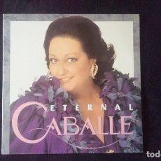 Discos de vinilo: LP CABALLÉ ETERNAL, 1991, 2 DISCOS. Lote 160499374