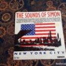 Discos de vinilo: NEW YORK CITY.THE SOUNDS OF SIMON.CARRERE.1990. Lote 160501626