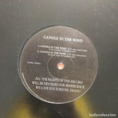 Discos de vinilo: CANDLE IN THE WIND - CANDLE IN THE WIND - 12'' MAXISINGLE NO LABEL. Lote 160506862