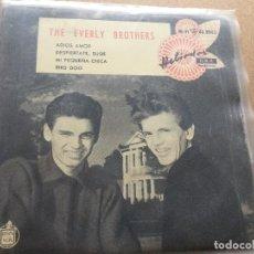 Discos de vinilo: SINGLE EVERLY BROTHERS EN ESPAÑOL. Lote 160513490