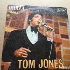 Discos de vinilo: TOM JONES. DELILAH. Lote 160515542