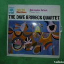 Discos de vinilo: THE DAVE BRUBECK QUARTET TAKE FIVE + 3 (EP DE 4 CANCIONES) CBS 1963 MUY BUEN ESTADO. Lote 160521734