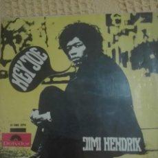 Disques de vinyle: JIMI HENDRIX-HEY JOE-ORIGINAL ESPAÑOL 1967. Lote 160523278