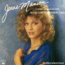 Discos de vinilo: W8 - JEANNE MANSON. COMME UN BAETAU LIVRE. CBS 1981. SINGLE VINILO. FRANCIA.. Lote 160525570