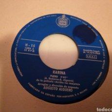 Discos de vinilo: KARINA SINGLE PROMOCIONAL PUEDO / HAGO MAL EN QUERERTE 1964. Lote 160537057