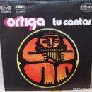 Discos de vinilo: SINGLE / ORTIGA / TU CANTAR - SEMILLA / MOVIEPLAY SERIE GONG 01.0380/0 / 1978 PROMO. Lote 160541678