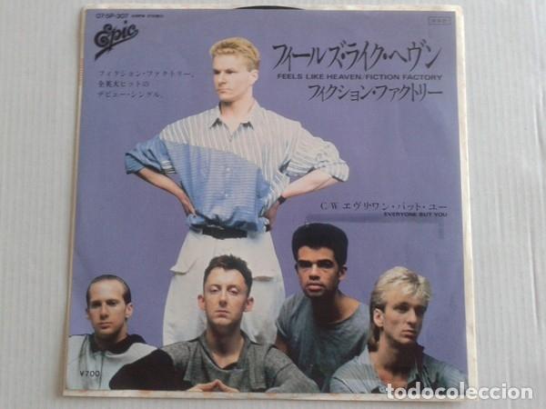OFERTA PROMO FICTION FACTORY - FEELS LIKE HEAVEN - SINGLE JAPON (Música - Discos de Vinilo - Singles - Pop - Rock Extranjero de los 80)
