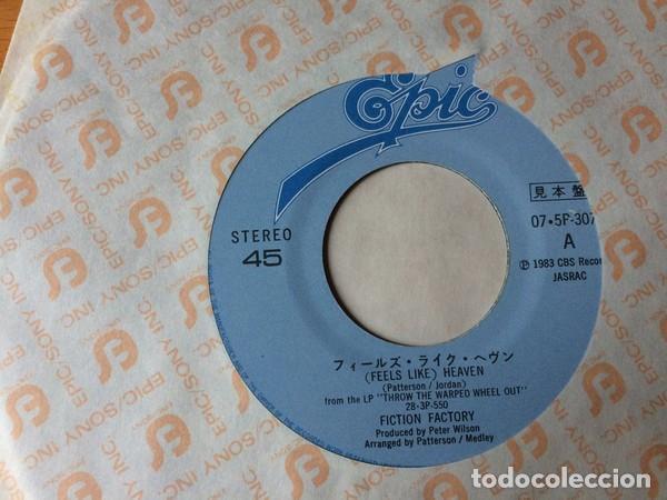 Discos de vinilo: oferta promo Fiction Factory - Feels Like Heaven - single Japon - Foto 2 - 132176834