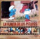 Discos de vinilo: LOS PITUFOS- BANDA SONORA ORIGINAL DE LA PELICULA LA FLAUTA DE LOS PITUFOS - LP BELTER 1983. Lote 160555766