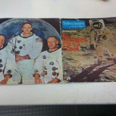 Discos de vinilo: DISCO VINILO EL HOMBRE EN LA LUNA CONVERSACIONES ENTRE TRIPULANTES APOLO 11 Y LA NASA. Lote 187200336