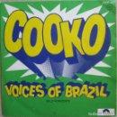 Discos de vinilo: VOICES OF BRAZIL: COOKO / BELO HORIZONTE. Lote 160557718