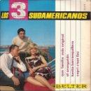 Discos de vinilo: EP LOS 3 SUDAMERICANOS QUE FAMILIA MAS ORIGINAL BELTER 51611. Lote 160559006