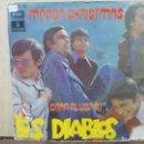 Discos de vinilo: LOS DIABLOS - MANDA CHRISTMAS / CARA AL VIENTO - SINGLE DEL SELLO ODEÓN 1971. Lote 160559906