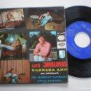 Discos de vinilo: LOS JAVALOYAS - BARBARA ANN + 3 - EP LA VOZ DE SU AMO / EMI 1966. Lote 160560402