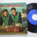 Discos de vinilo: DUO DINAMICO - BAILANDO TWIST +3 - EP LA VOZ DE SU AMO 1962. Lote 160560822