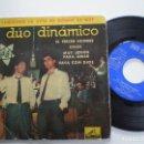 Discos de vinilo: DUO DINAMICO - EL TERCER HOMBRE +3 - EP LA VOZ DE SU AMO 1961. Lote 160561010