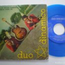 Discos de vinilo: DUO DINAMICO - LAS HOJAS VERDES +3 - EP LA VOZ DE SU AMO 1961 . Lote 160561138