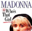 Discos de vinilo: MADONNA - WHO'S THAT GIRL - SINGLE FRANCE 1987. Lote 160561738