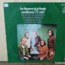 Discos de vinilo: LOS ROMEROS DE LA PUEBLA - SEVILLANAS `73, VOL. 1 - EP. DEL SELLO HISPAVOX 1973. Lote 160563370