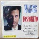 Discos de vinilo: FOSFORITO - VILLANCICOS FLAMENCOS - EP. DEL SELLO BELTER 1970. Lote 160563670