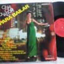 Discos de vinilo: HUGO MONTENEGRO - CHA CHA CHAS PARA BAILAR - LP VERGARA 1966. Lote 160564446