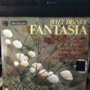 Discos de vinilo: WALT DISNEY-FANTASIA-1967-CLAVE 18 1046 S-DIFICIL VERSION-NUEVO SIN USO. Lote 160567262