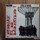 Discos de vinilo: IMANOL - HERRIAK EZ DU BARKATUKO !. Lote 160569170