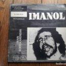 Discos de vinilo: IMANOL - ... ORAIN BORROKARENEAN . Lote 160569746