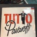 Discos de vinilo: TUTTO AVAROTTI DOBLE LP DE 1989. Lote 160571082