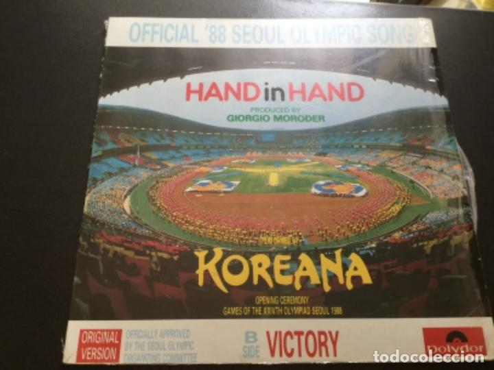 OFFICIAL 88 SEOUL OLYMPIC SONG - HAND IN HAND (Música - Discos de Vinilo - Maxi Singles - Étnicas y Músicas del Mundo)