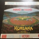 Discos de vinilo: OFFICIAL 88 SEOUL OLYMPIC SONG - HAND IN HAND . Lote 160571190