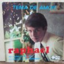 Discos de vinilo: RAPHAEL - TEMA DE AMOR, LLORONA... - EP. DEL SELLO LA VOZ DE SU AMO 1967. Lote 160573118