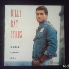 Discos de vinilo: LP BILLY RAY CYRUS, SOME GAVE ALL, 1982. Lote 160585810