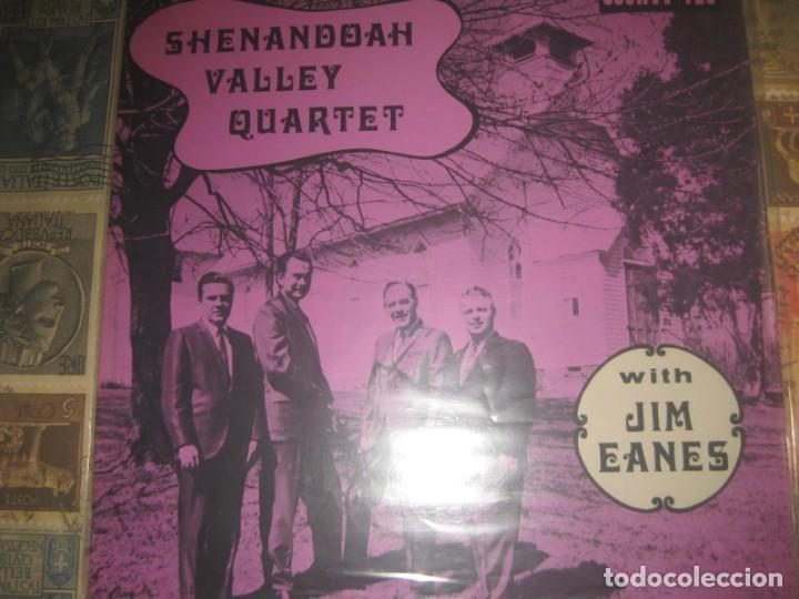 JIM EANES SHENANDOAH VALLEY QUARTET(COUNTY-1970)OG USA EX BLUEGRASS HILLBILLY LEA DESCRIPCION (Música - Discos - LP Vinilo - Country y Folk)
