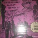 Discos de vinilo: JIM EANES SHENANDOAH VALLEY QUARTET(COUNTY-1970)OG USA EX BLUEGRASS HILLBILLY LEA DESCRIPCION . Lote 160586054