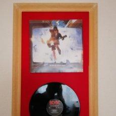 Discos de vinilo: CUADRO VINILO ACDC. Lote 160588378